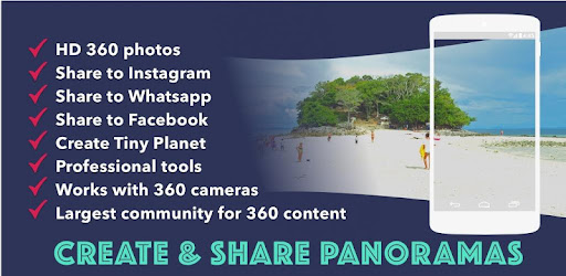 Panorama 360 Camera: 360 Photos for FB:Photosphere - Apps on