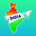 India Map & Capitals icon