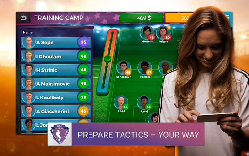 Women's Soccer Manager - Football Manager Game 1.0.13 screenshots 14