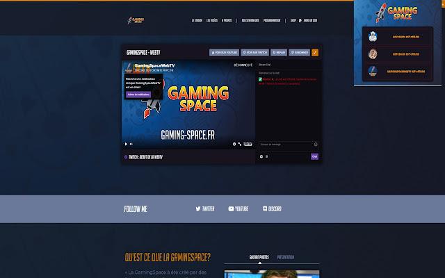 WebTV GamingSpace