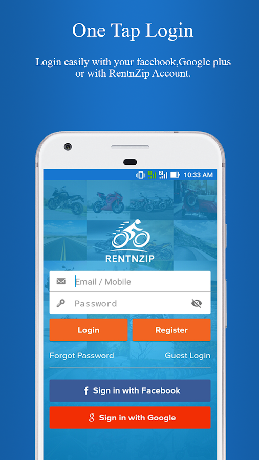 RentnZip- screenshot