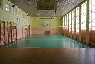 Photo: Sala gimnastyczna.