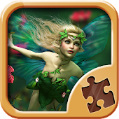 Fairy Puzzle Games for Kids