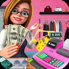 Shopping Mall Girl Cashier Game icon