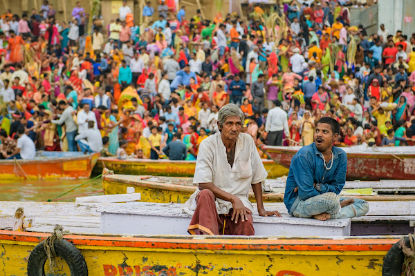 Varanasi Alba sul Gange di erreemme