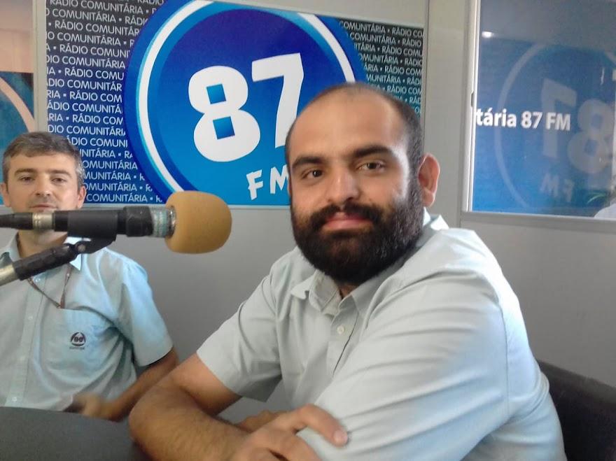 Lucas Bachião, integrante da diretoria da Assoxupé