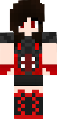 a girl with a red wither shirt