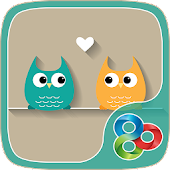 Sweet Owls - GO Launcher Theme
