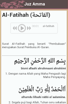 Try These Juz Amma Arab Latin Dan Terjemahan Pdf {Mahindra