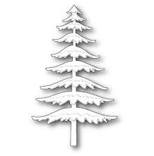 Memory Box Die - Snowy Pine
