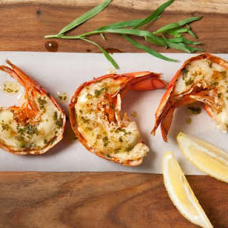 Red Lobster-Inspired Broiled Lobster Tails.
