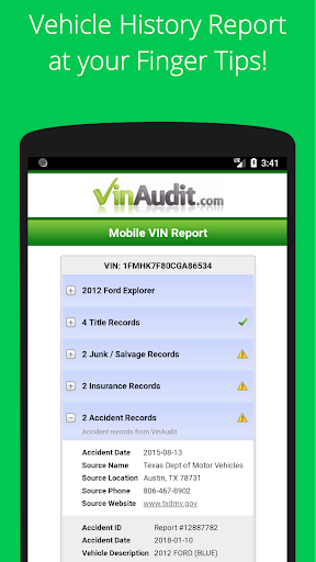 Free VIN Check Report & History for Used Cars Tool 7.0.0.5 Screenshots 2