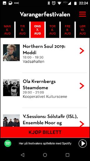 varangerfestivalen 2019 screenshot 2