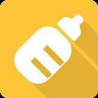 Registro de lactancia gratis. Diario del bebe icon