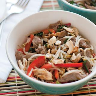 Beef & Mushroom Chop Suey