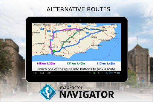 MapFactor GPS Navigation Maps screenshot 23