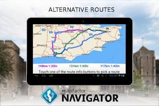 MapFactor GPS Navigation Maps - screenshot thumbnail 23