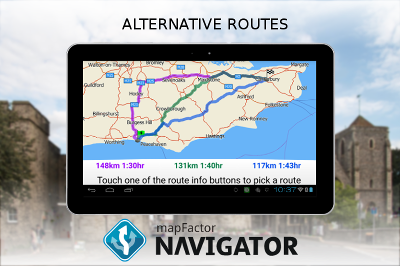 #23. MapFactor GPS Navigation Maps (Android)