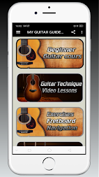 MY GUIDE TO LEARN HOW TO PLAY GUITAR APK screenshot thumbnail 1