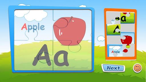 Alphabet puzzles & flash cards 1.1 screenshots 8