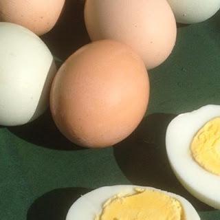 Pressure Cooker Hard-Boiled Eggs