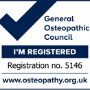 general osteopathetic council registered