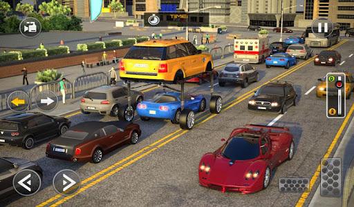 Modern Car Driving Simulator SUV Car Parking Games apktram screenshots 15
