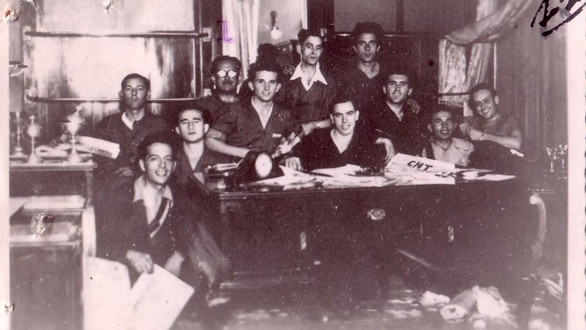 Comité de presos anarquistas.