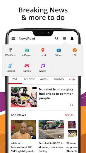 India News,Latest News App,Top Live News Headlines 4.4.0.2 screenshots 2