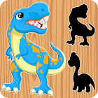 Dinosaurs Puzzles for Kids - FREE icon