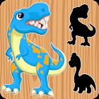 rompecabezas de dinosaurios para niños - GRATIS icon