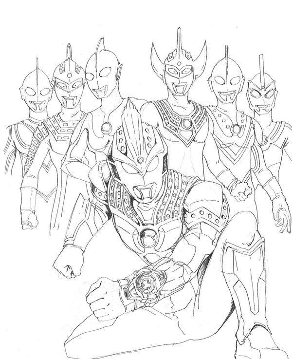 How To Draw Ultraman Tiga Easy Screenshot