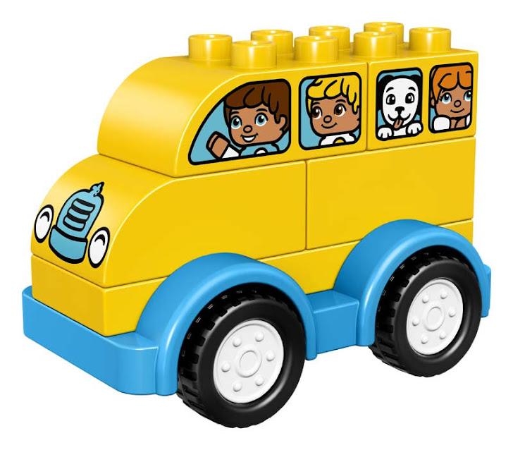 Contenido de Lego® 10851 Mi Primer Autobús