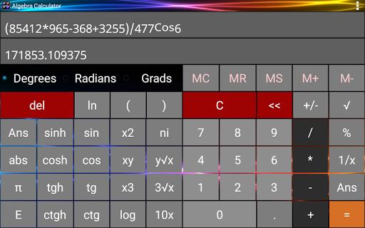 Algebra Calculator