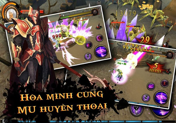 android MU Thien Dia 3D Screenshot 2