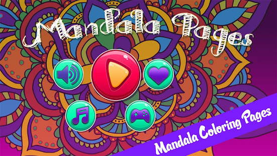 Mandala Pages Coloring Book Apps on Google Play