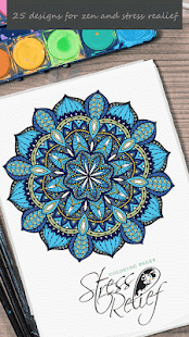 Stress Relief Coloring Pages - náhled