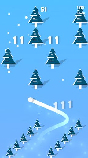 Dancing Snow - Musical Casual Game screenshot 2