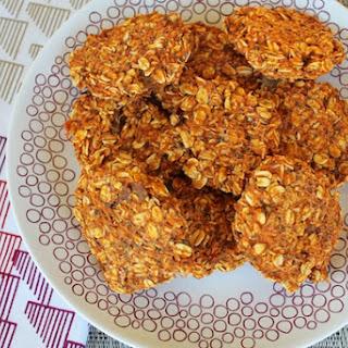 Sweet Potato Cookies.