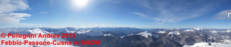 Photo: IMG_9983 Panorama dal Cusna verso sud
