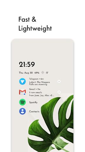 niagara launcher 🔹 fresh & clean screenshot 2