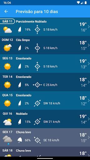 Tempo Brasil Clima XL PRO - previsão 10 dias screenshot 7