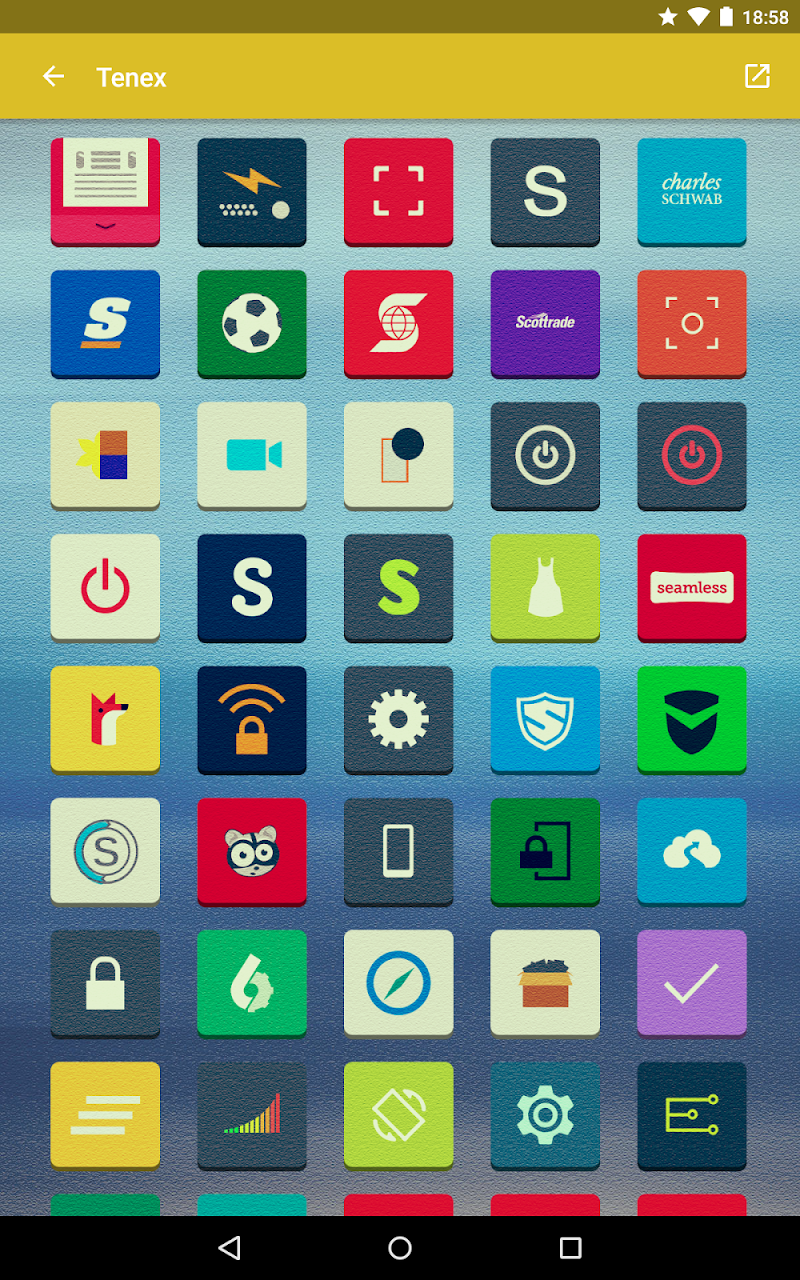 Tenex - Icon Pack Screenshot 14