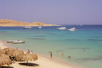 Photo: Ile en Mer Rouge en Egypte