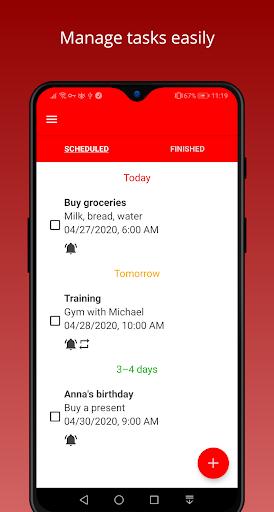 Todo Task Reminder Pro + Widget screenshots 1