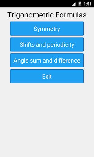 三角関数の数式