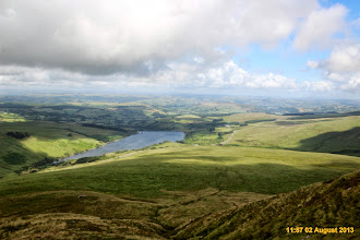 Photo: Looking back at Cray reservoir beyond walk start point