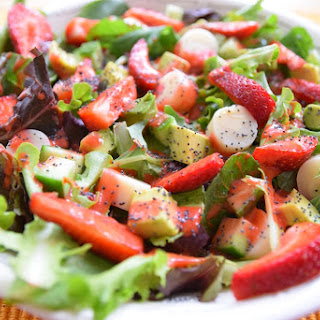 Hearts of Palm Strawberry Summer Salad.