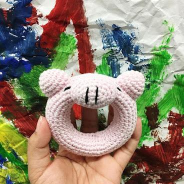 伴兒系列-手搖玩具Ring-Pig