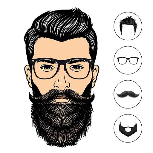 Boy Photo Editor : Man Hair Beard Mustache